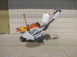Saw, Cutoff w/cart TS7000-14  825