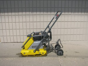 Compactor, Vibroplate 5.5HP 129