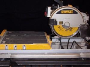 Saw, Tile Floor 10″w/wet blade 1015